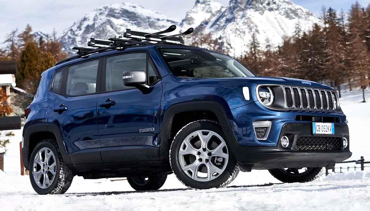 Jeep Renegade 4xe ibrida plug-in