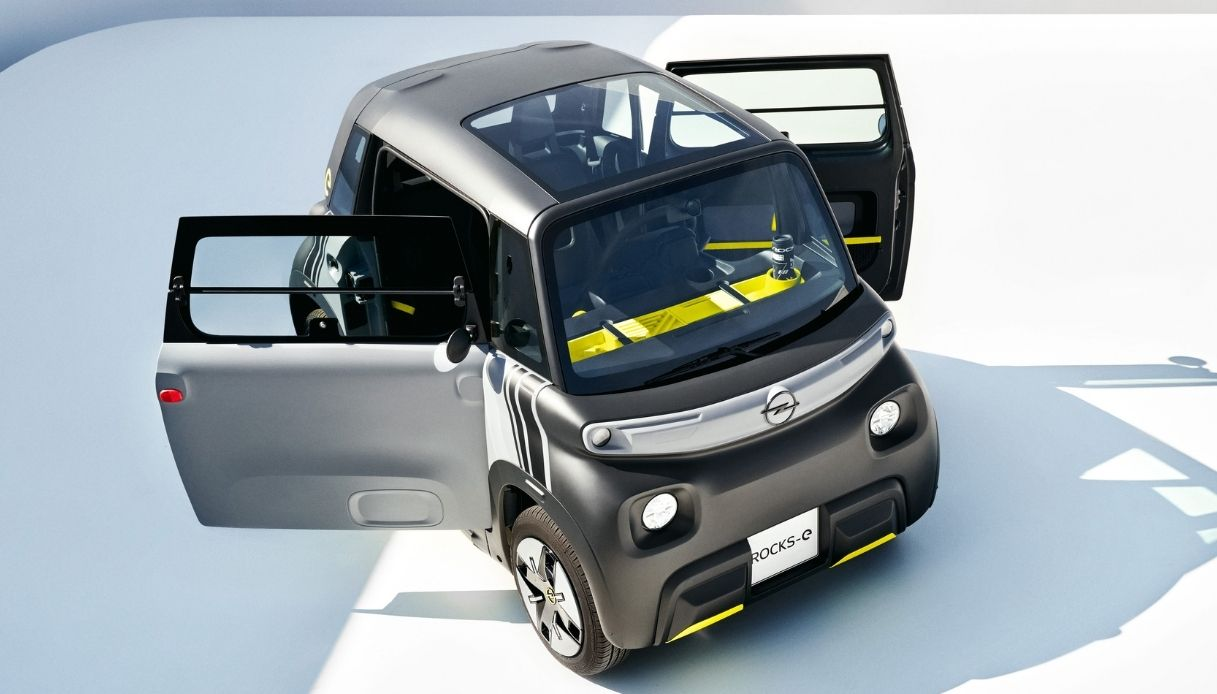 La nuova Opel Rocks-e