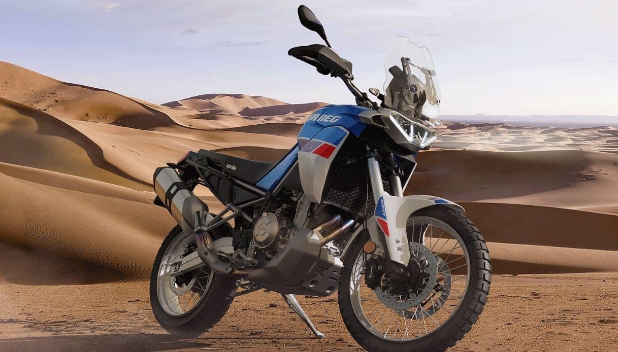 Ritorno al passato per l'Aprilia Tuareg