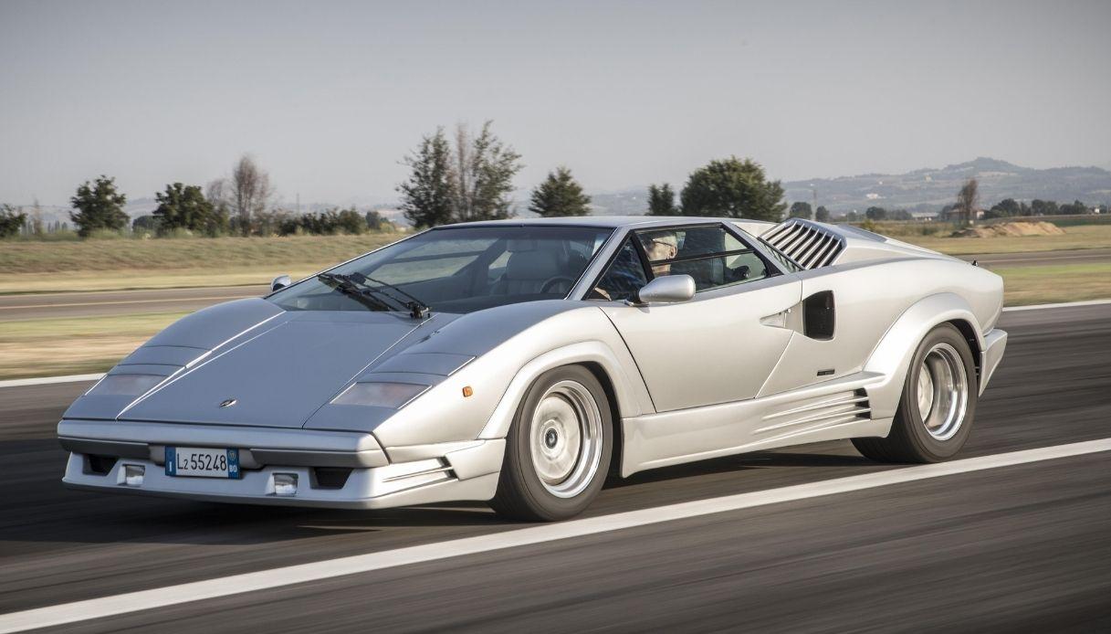 Il ritorno della Lamborghini Countach in chiave moderna