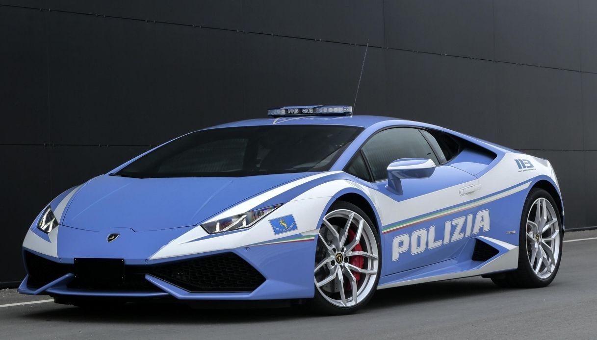 Lamborghini Polizia, il record