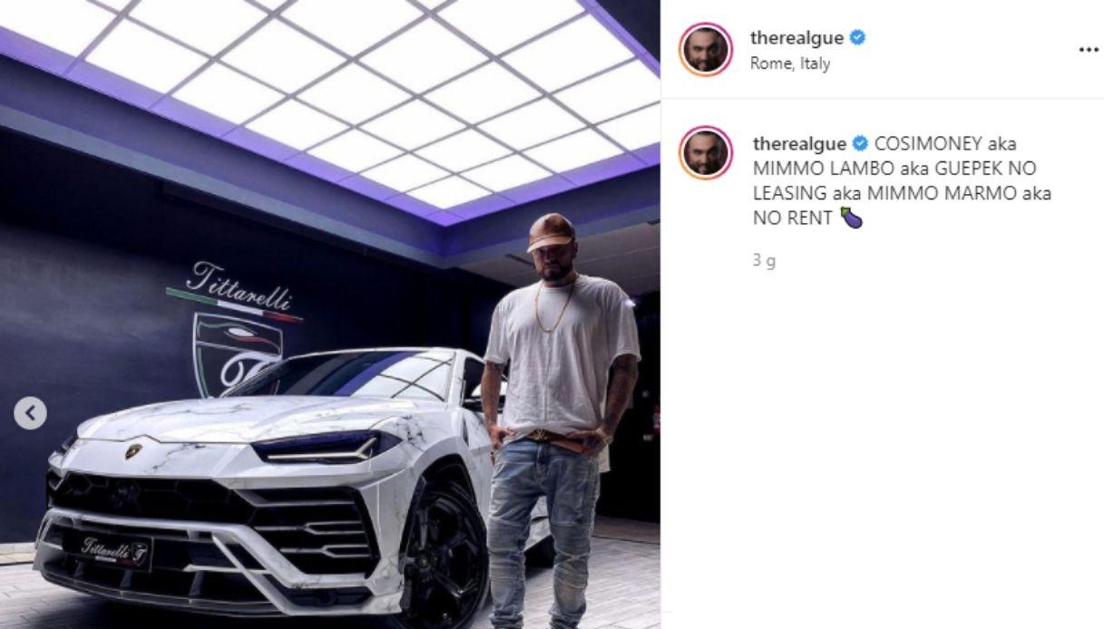 La nuova Lamborghini Urus di Gué Pequeno