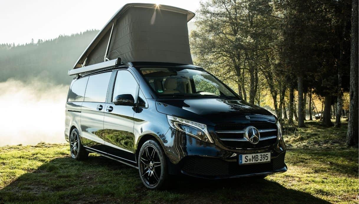 I nuovi camper di Mercedes