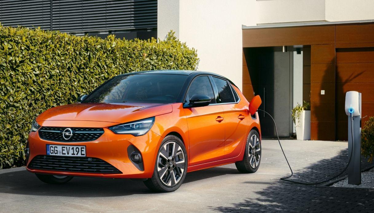 La nuova Opel Corsa elettrica