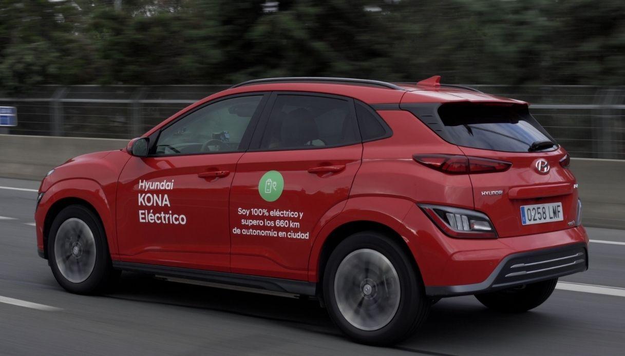 Nuovo record di autonomia Kona elettrica