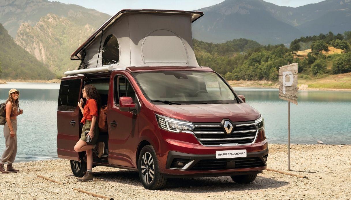 Trafic SpaceNomad, camper Renault per l'Europa