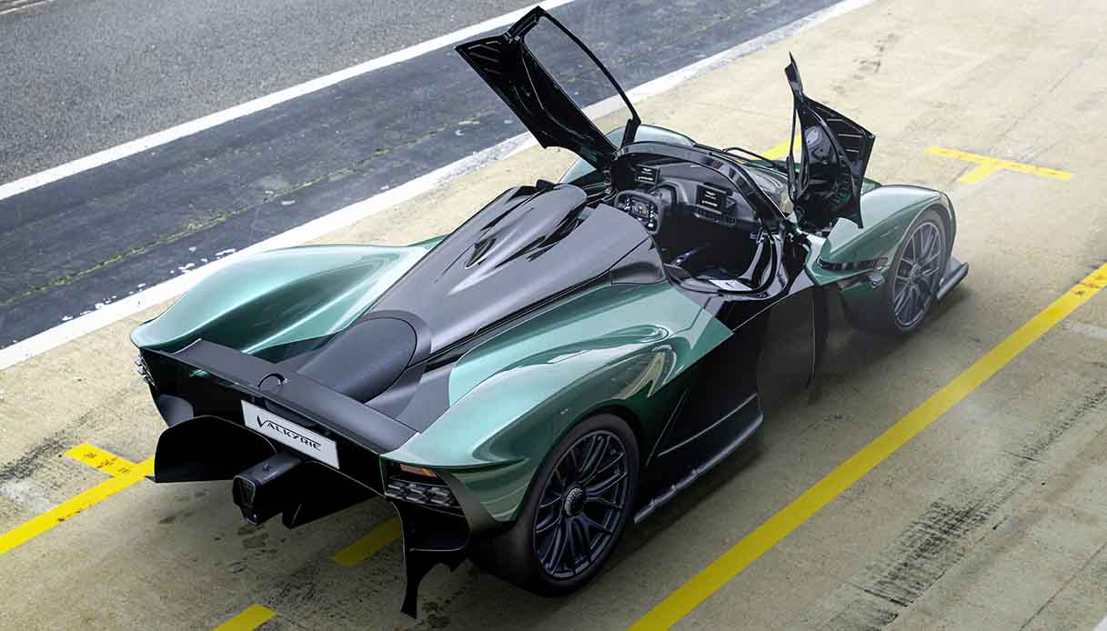 L'Aston Martin Valkyrie derivata dalla Formula 1