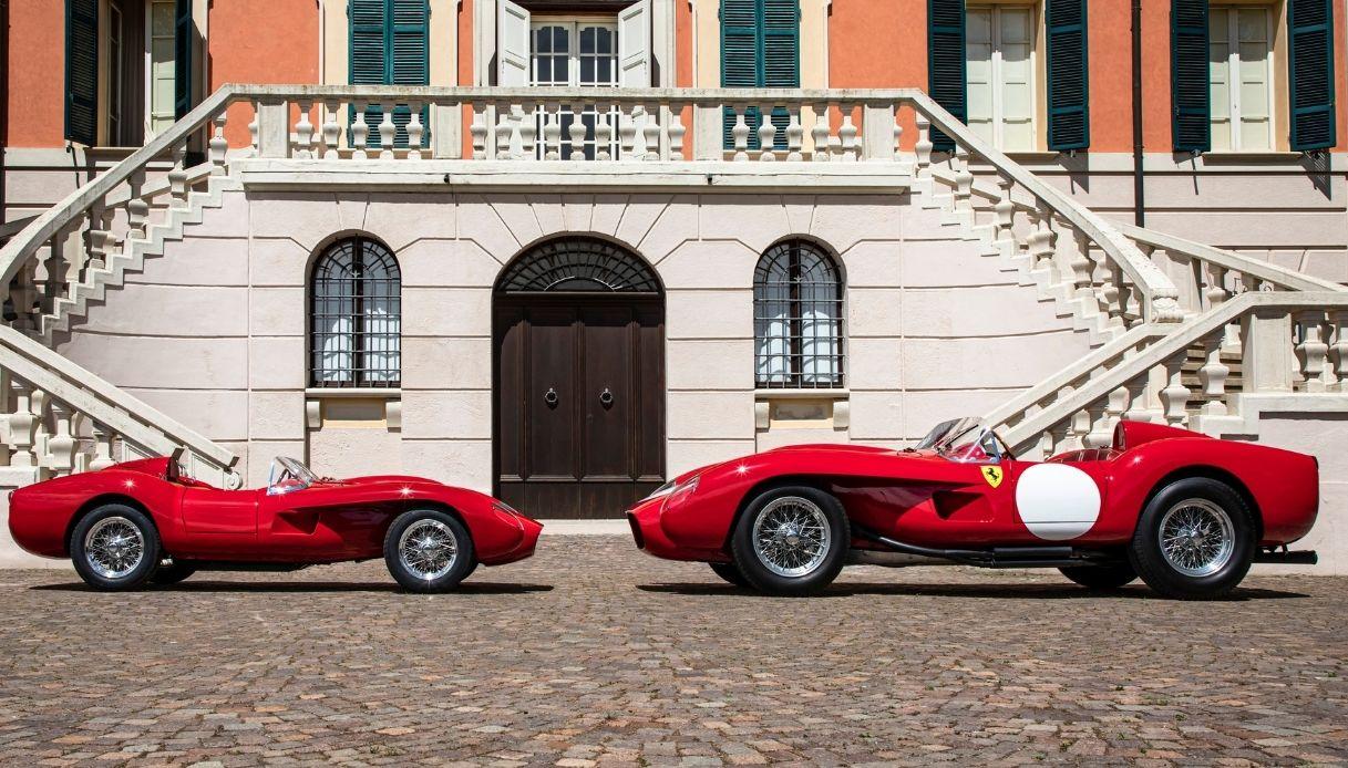 La nuova Ferrari Testa Rossa J