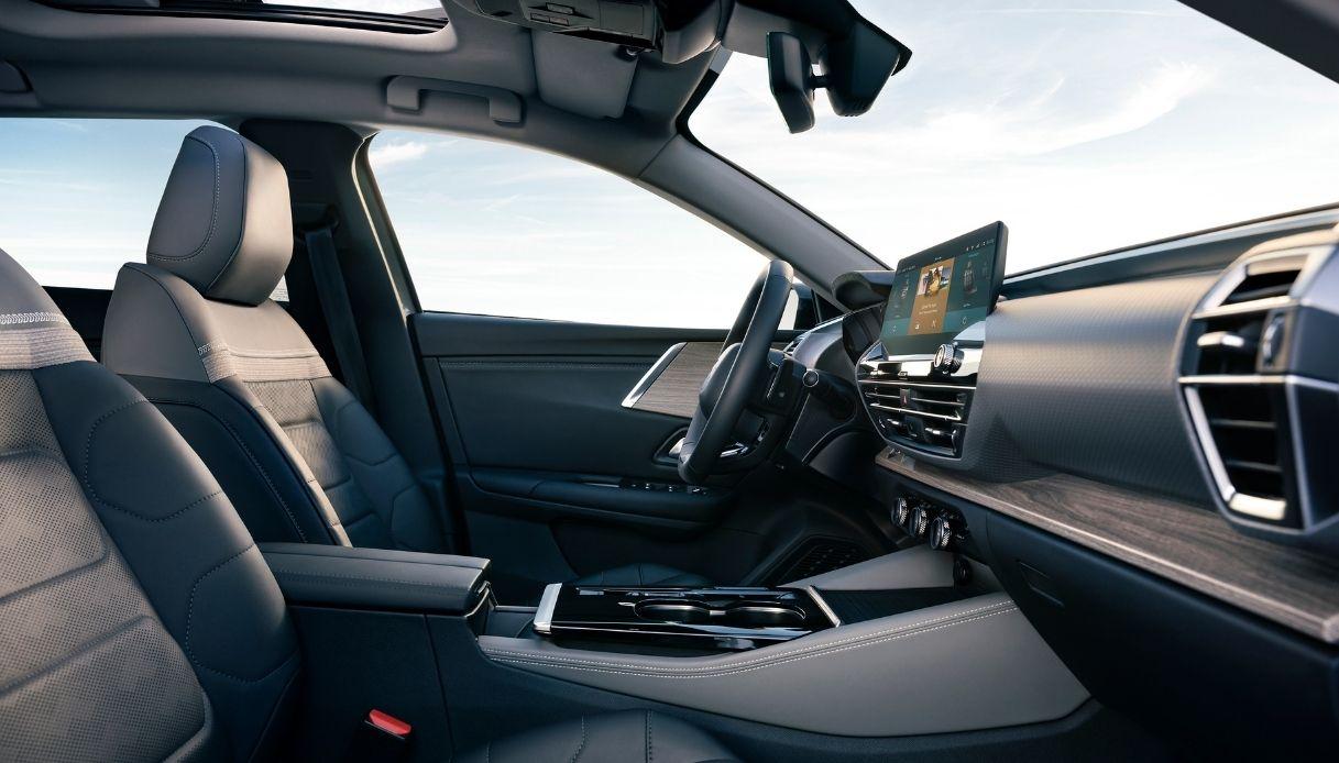 Gli interni della nuova Citroen C5 X