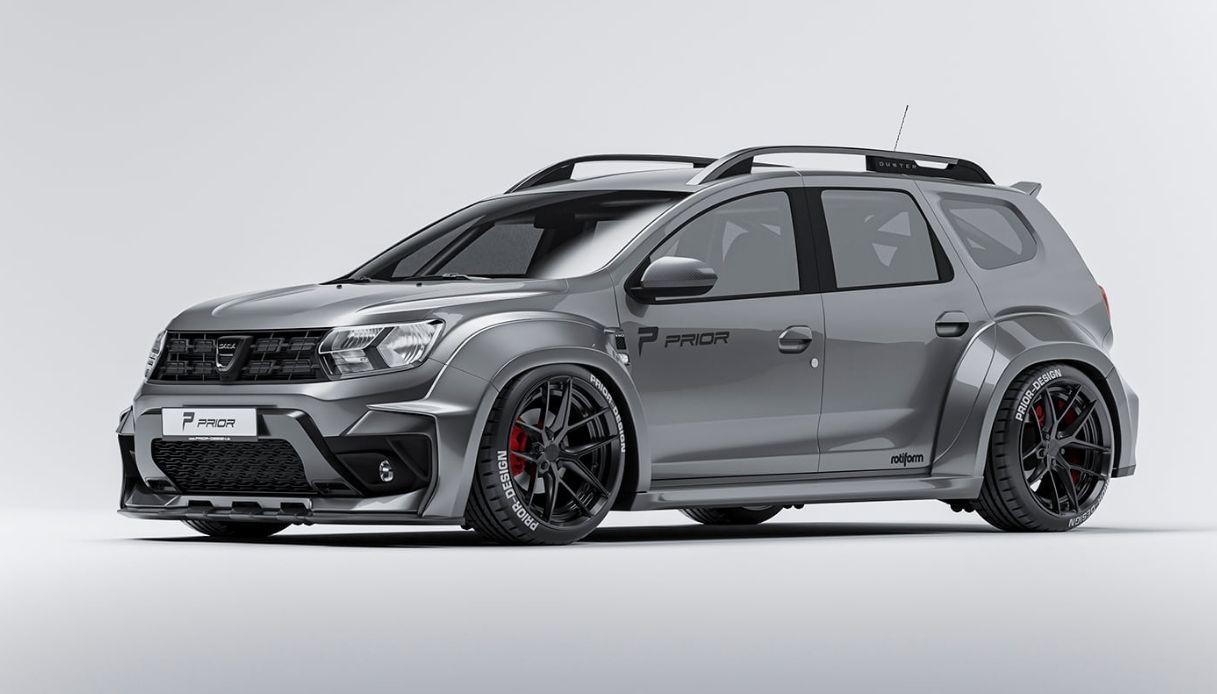 Dacia Duster, Prior Design lancia il nuovo body kit sportivo