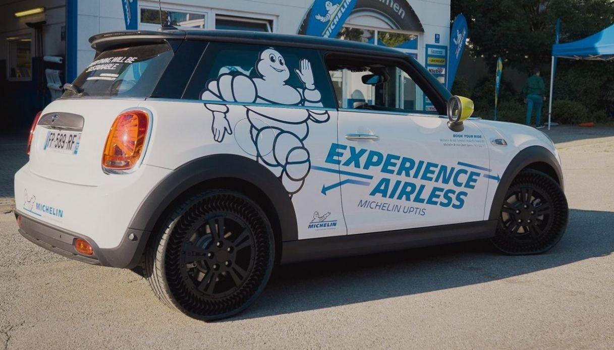 I nuovi pneumatici airless Michelin Uptis