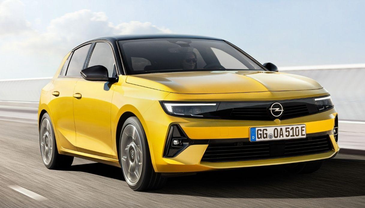 Opel Astra arriva alla sua sesta generazione