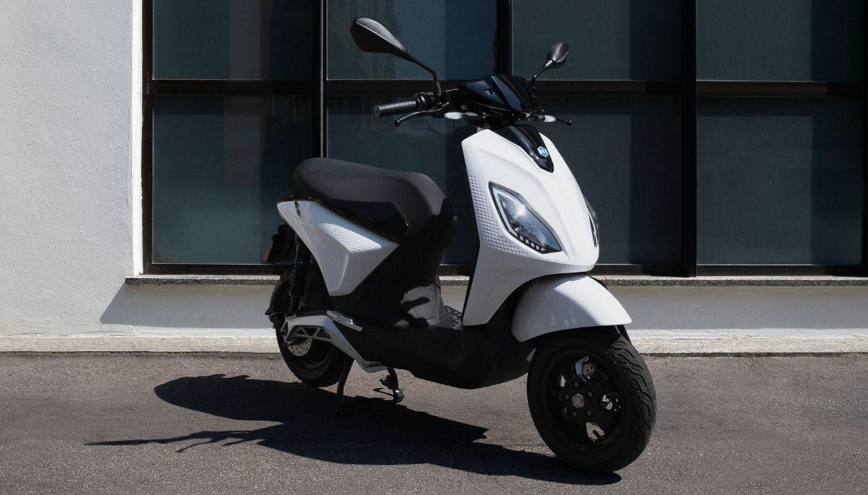 Piaggio 1, il nuovo e-scooter