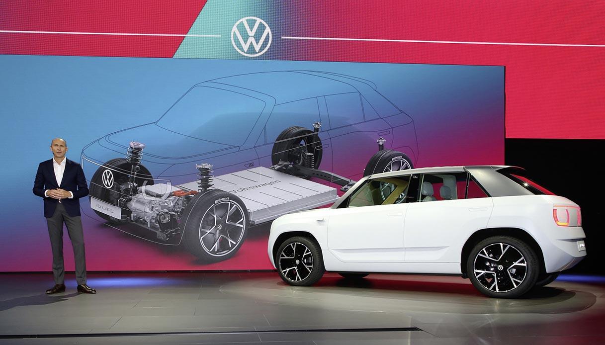 Presentazione della Volkswagen ID.Life a Monaco di Baviera