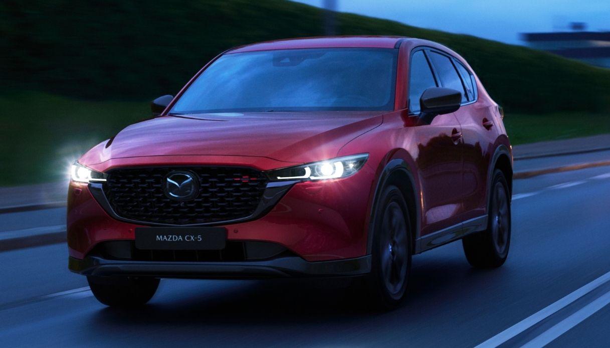 Mazda CX-5 2022 arriva in Italia