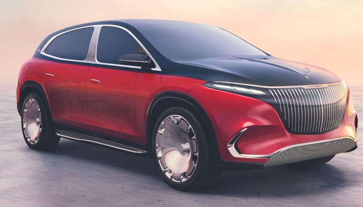 Mercedes-Maybahc EQS, nuovo SUV elettrico di lusso