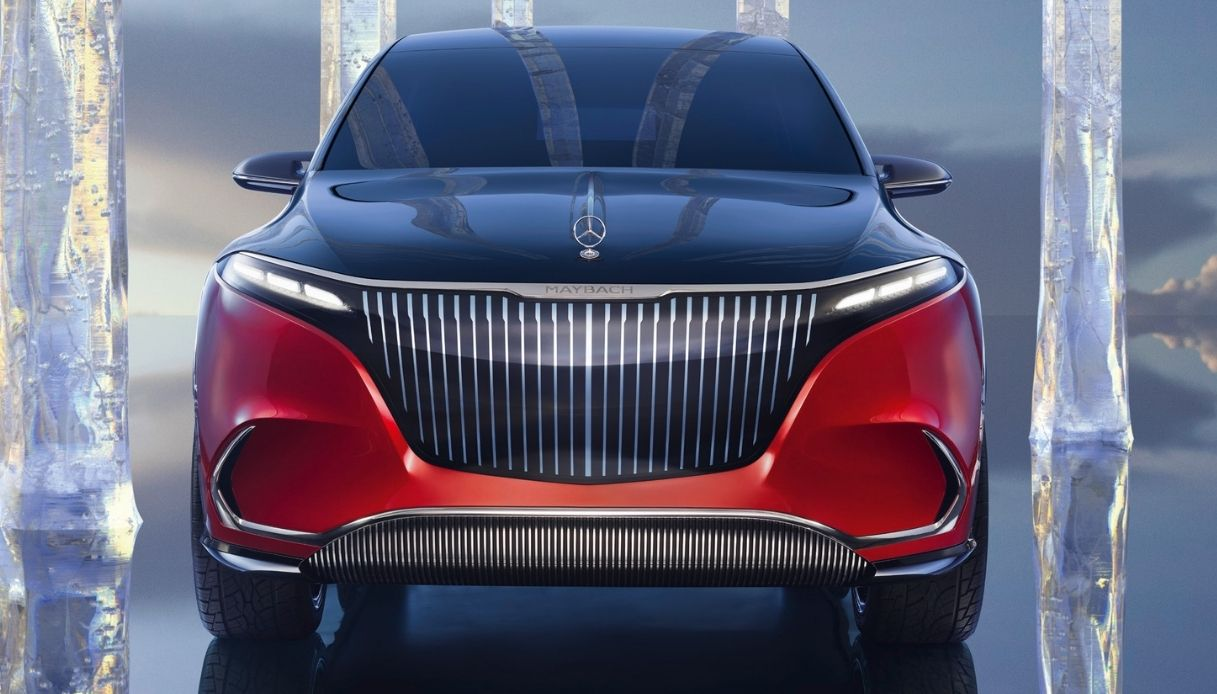 Mercedes presents the concept of the new EQS