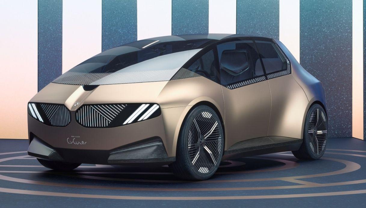 BMW i Vision Circular, l'auto del futuro