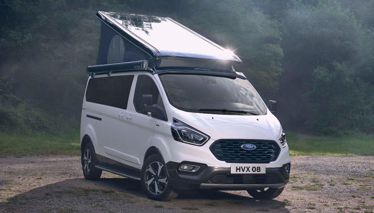 Ford Transit Custom Nugget Active, le novità