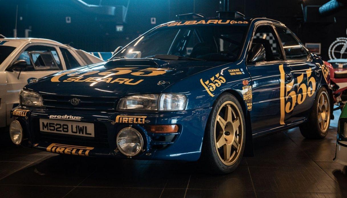 La Subaru Impreza di Colin McRae