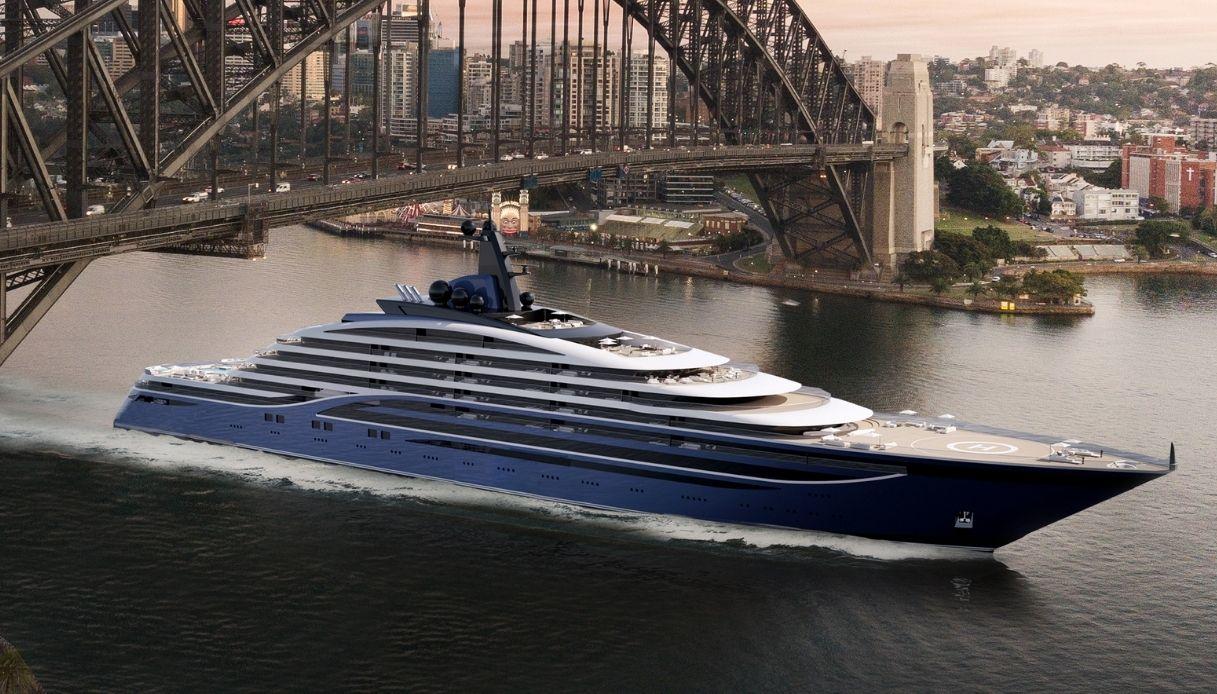 Il super yacht di lusso Somnio