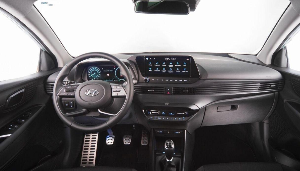 Gli interni di Hyundai Bayon