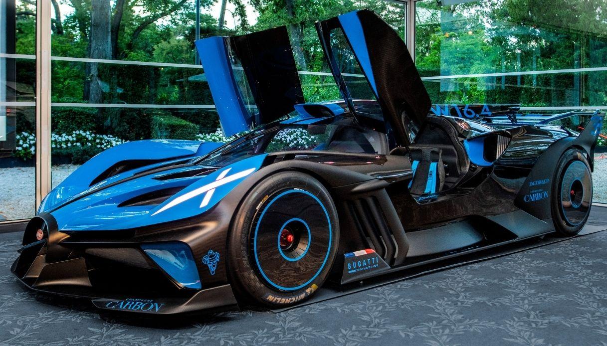 Bugatti Bolide das schönste Hypercar der Welt