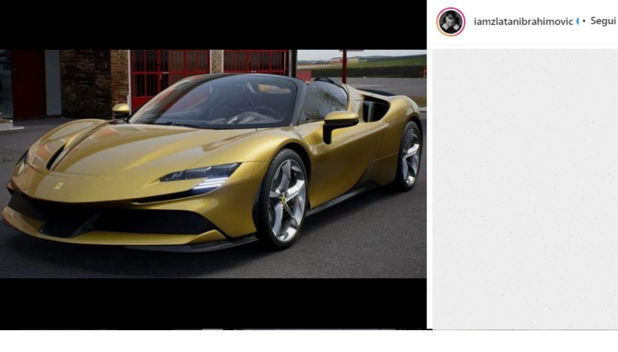 Ibra si regala una Ferrari pazzesca per i suoi 40 anni