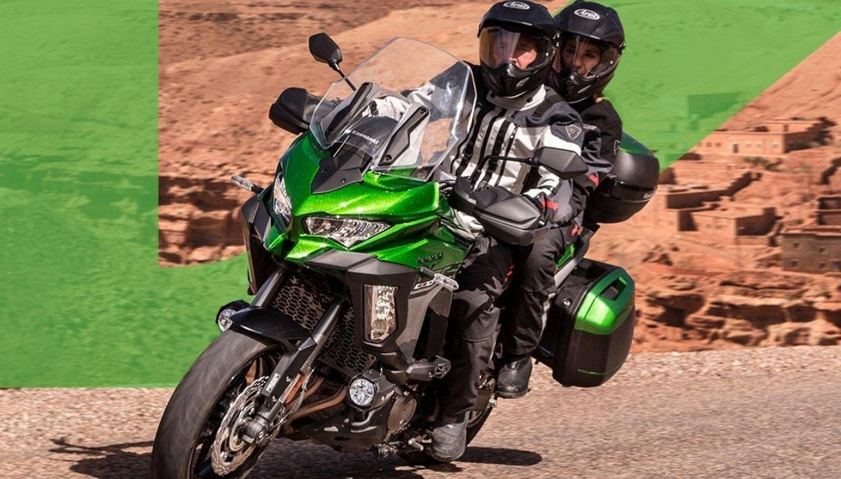 Kawasaki presenta la sua nuova Versys 1000