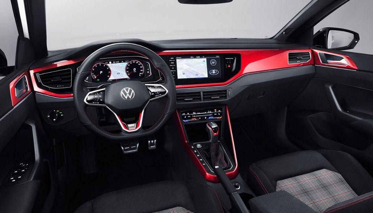 Gli interni della nuova Polo GTI
