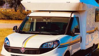 Il mini camper su base Fiat Doblò