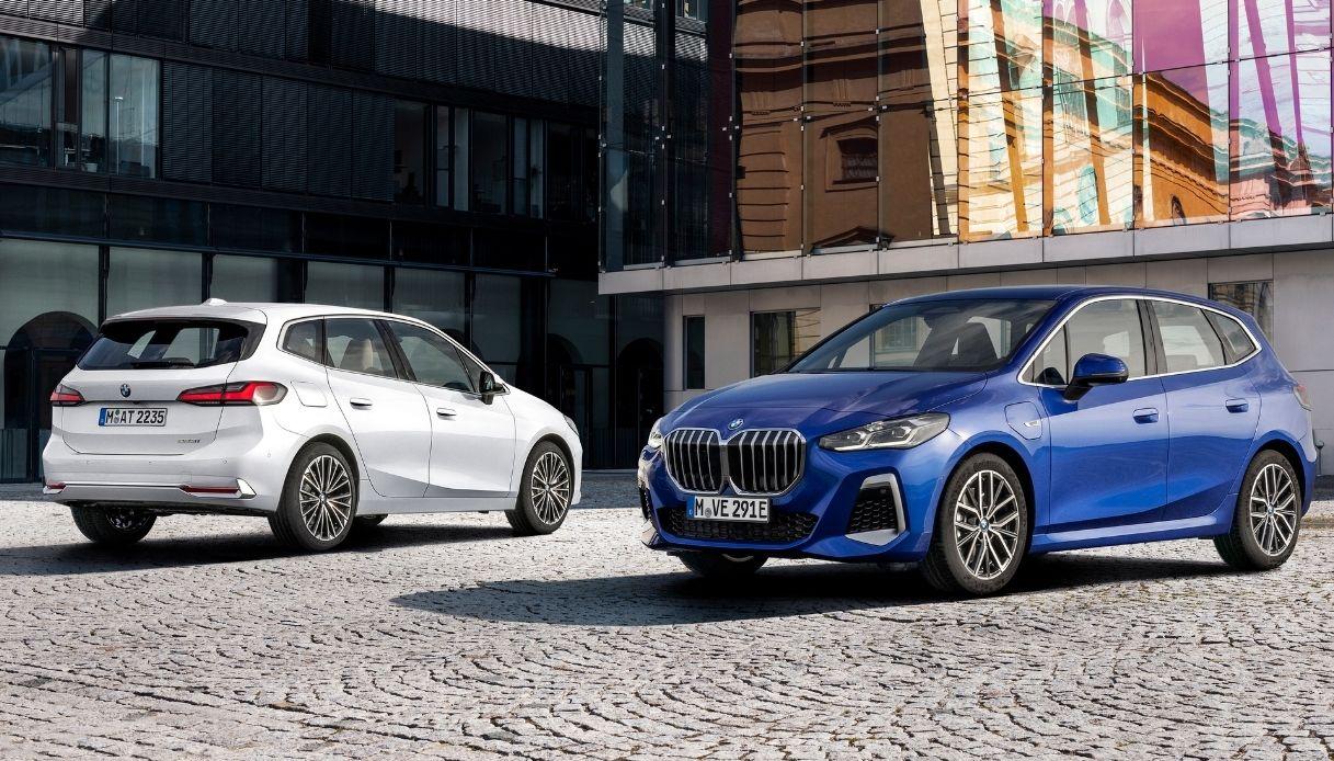 BMW lancerà a febbraio la nuova Serie 2 Active Tourer