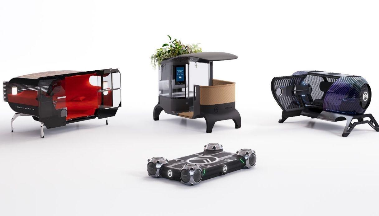 Citroen Skate, rivoluzione della mobilità