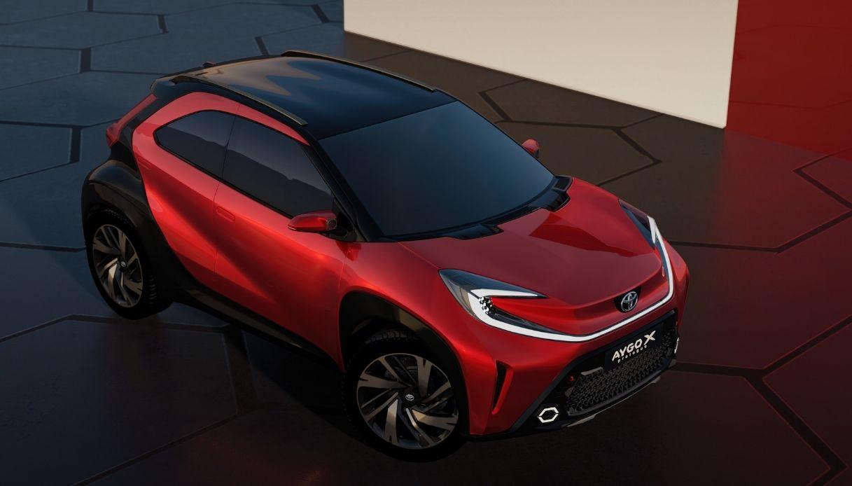Toyota Aygo X, il nuovo crossover della Casa